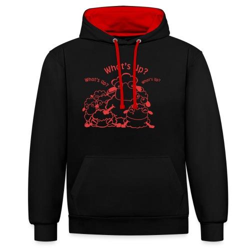 yendasheeps - Contrast hoodie