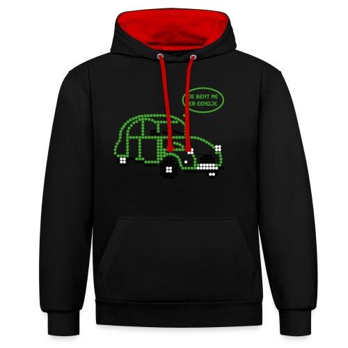 eendje.png - Contrast hoodie