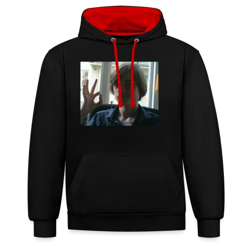 The official RetroPirate1 tshirt - Contrast Colour Hoodie