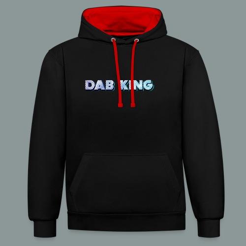 Dab King 2 - Kontrast-Hoodie
