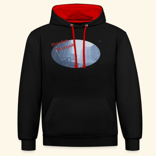to survive is all it takes - Contrast Colour Hoodie