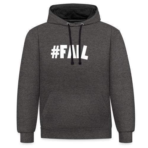 FAIL / White - Sweat-shirt contraste