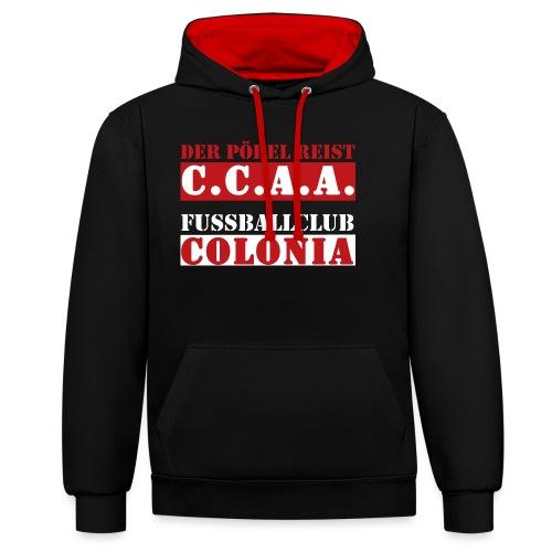 CCAA - Kontrast-Hoodie