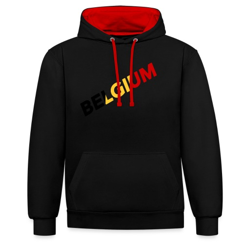 BELGIUM - Sweat-shirt contraste