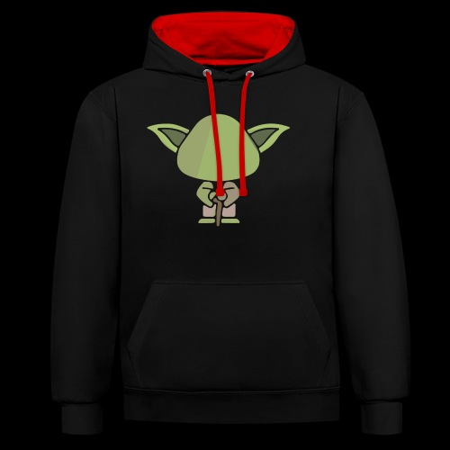 Master - Contrast Colour Hoodie
