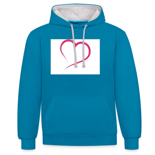 Hart - Contrast hoodie