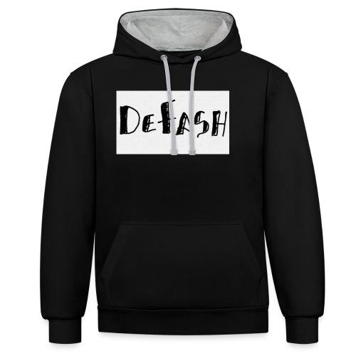 Defash1-png - Sweat-shirt contraste