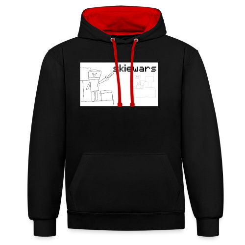 SKIEWARS - Contrast hoodie