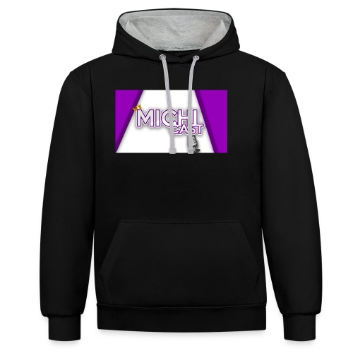 Camisa MichiCast - Contrast Colour Hoodie