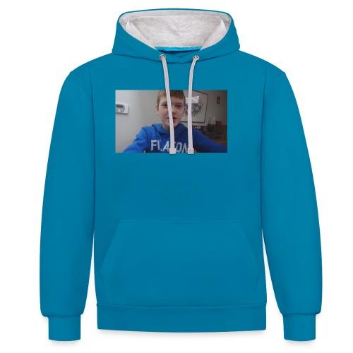 roel t-shirt - Contrast hoodie