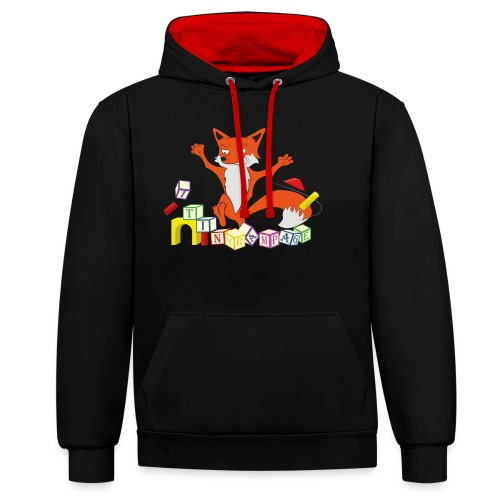 Tiny Rampage - Contrast hoodie