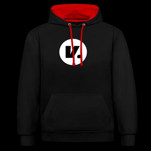 Ventura Black V Logo - Contrast hoodie