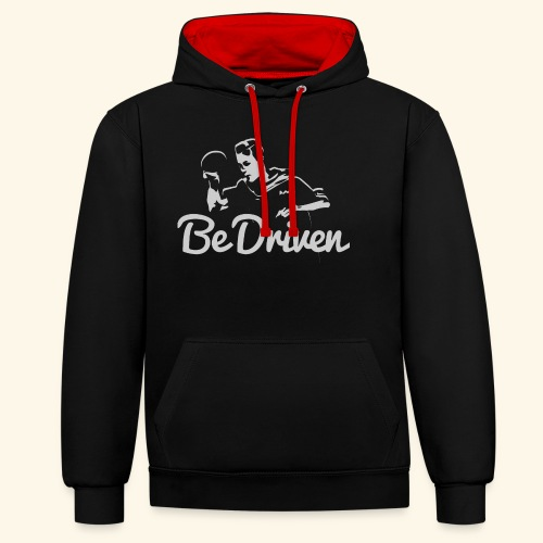 Be Driven to what you dreaming of win ping pong - Kontrast-Hoodie