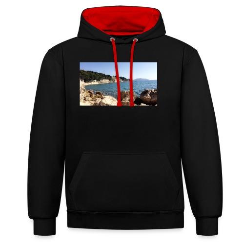 Corniche - Sweat-shirt contraste
