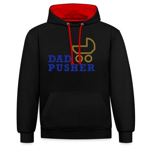 dad_pusher_T-Shirt - Kontrast-Hoodie