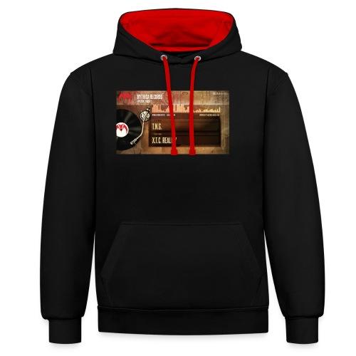 T.N.G. - X.T.C. Reality - Contrast hoodie