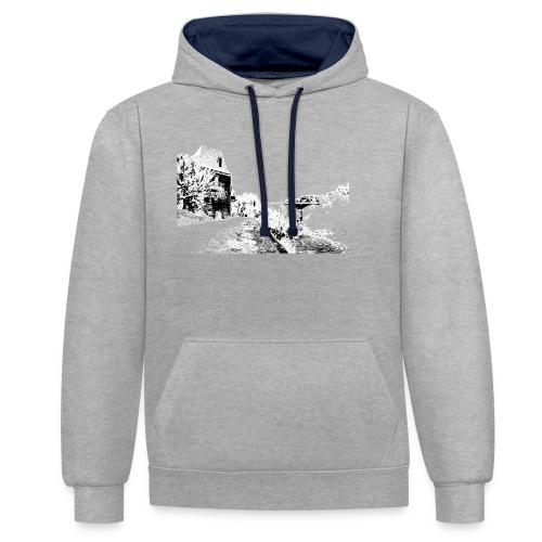 J'aime Mouleydier - Pont F - Sweat-shirt contraste