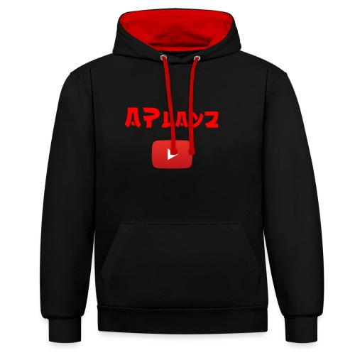 APlayz Design Set 01 - Contrast Colour Hoodie
