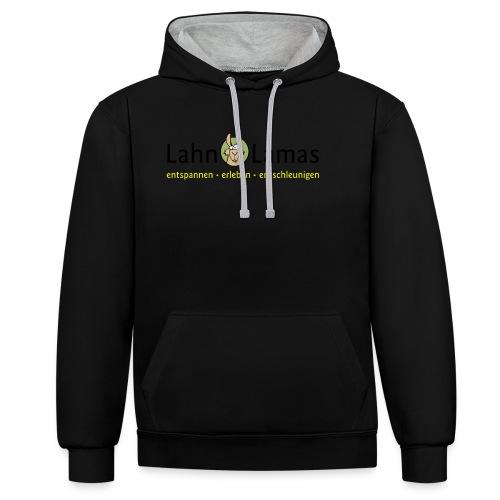 Lahn Lamas - Kontrast-Hoodie