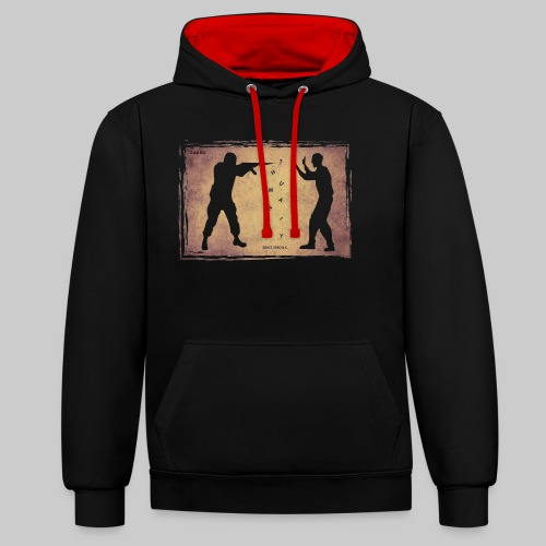 Humanity? - Contrast Colour Hoodie