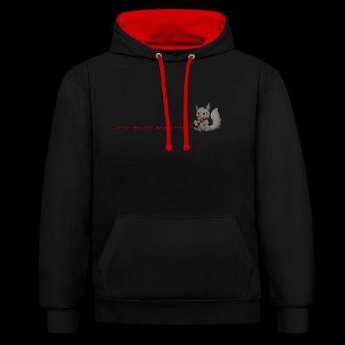RavenWolfire Design - Sweat-shirt contraste