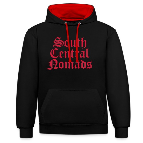 South Central Nomads - Kontrast-Hoodie