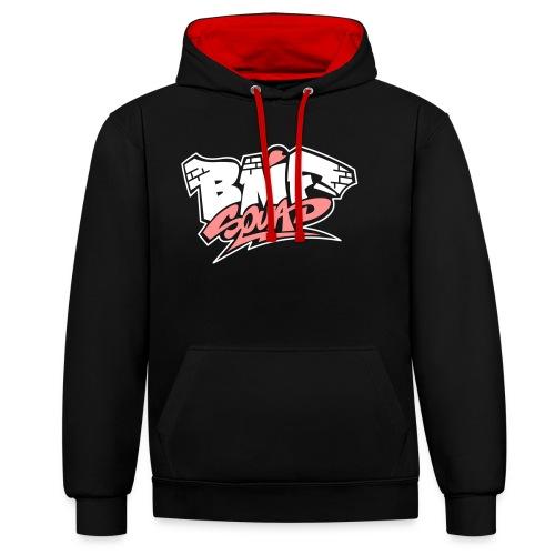 Bmf Squad - Sudadera con capucha en contraste
