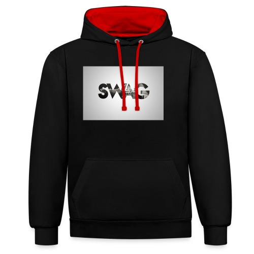 _SWAG CAMS - Sweat-shirt contraste
