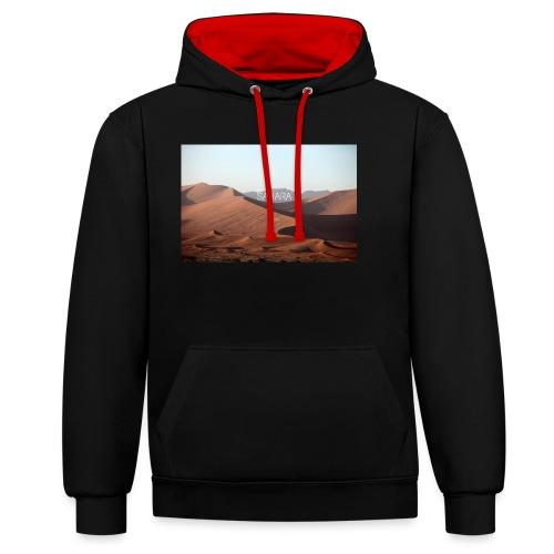 Sahara - Contrast Colour Hoodie