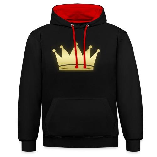Paradise Crown Gold - Contrast hoodie