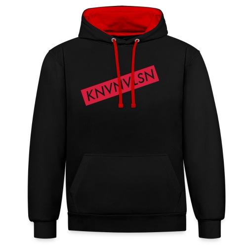 LOGOKNVNVLSN copy - Contrast hoodie