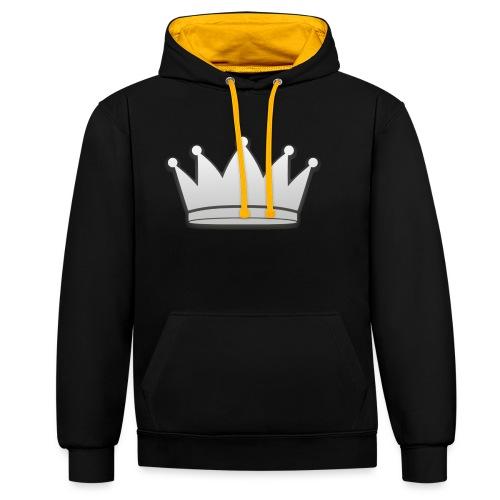 Paradise Online Crown Silver - Contrast hoodie