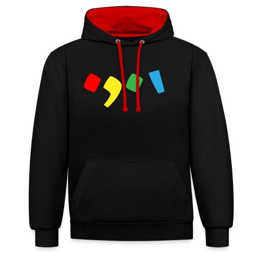 Tjien Logo Design - Accents - Contrast hoodie