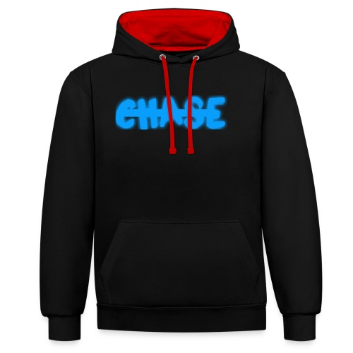 big_chase_bl - Contrast Colour Hoodie
