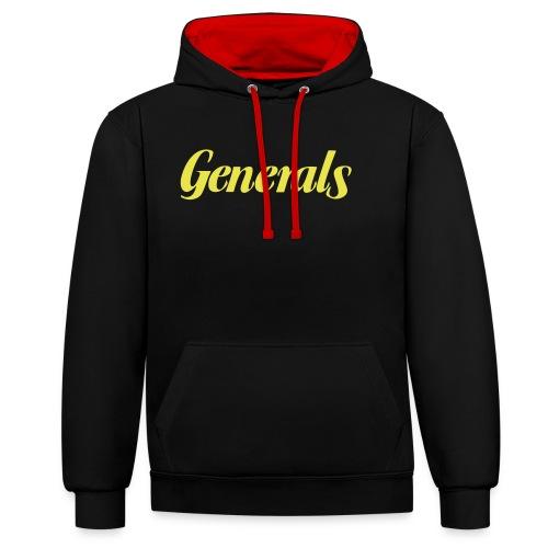 Generals - Kontrast-Hoodie