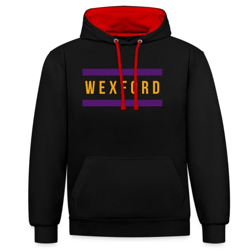 Wexford - Contrast Colour Hoodie