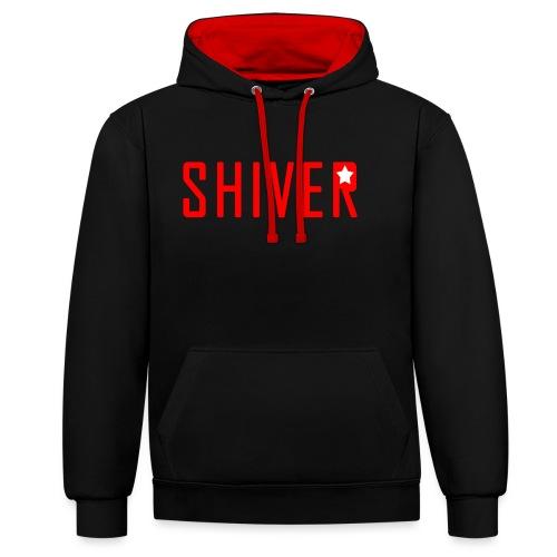 Shiver Logo - Contrast Colour Hoodie