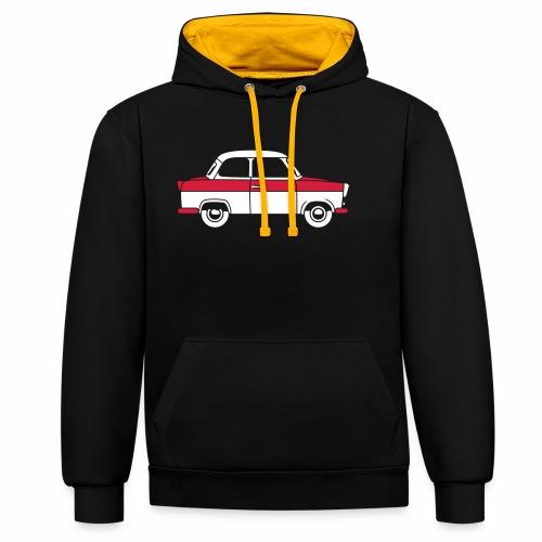 Trabant 500 Coupé 2c - Contrast Colour Hoodie