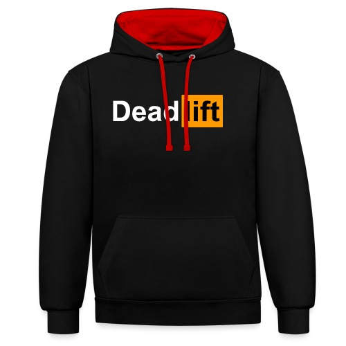 DeadLift X - Sweat-shirt contraste