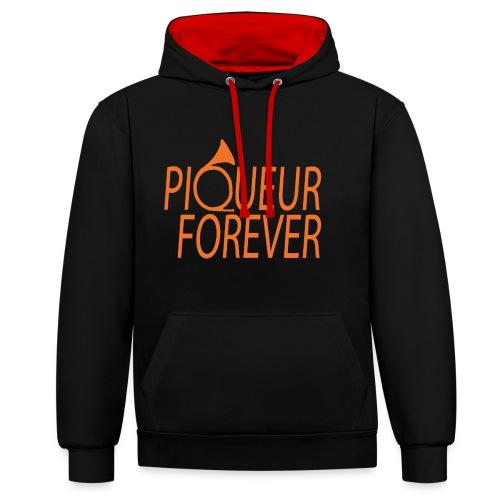 Piqueur forever ! - Sweat-shirt contraste