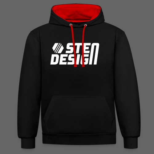 StenDesign T-Shirt - Contrast Colour Hoodie
