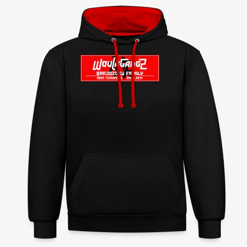 WoulaApparel - Sweat-shirt contraste