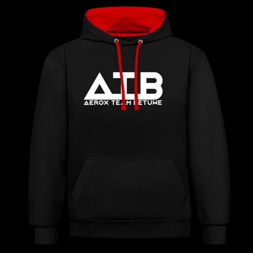 ATBWhite - Contrast hoodie