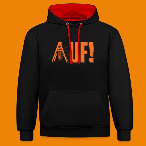 Auf / Shop - Contrast hoodie