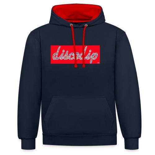 DISCODIP - Contrast hoodie