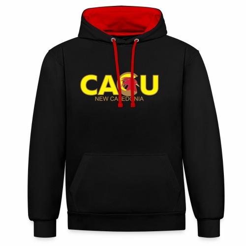 Cagu New Caldeonia - Sweat-shirt contraste