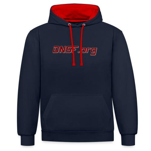 DNSF t-paita - Kontrastihuppari