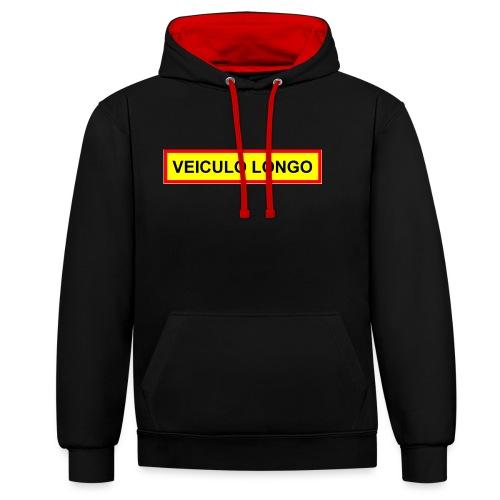 Veiculo Longo - Kontrast-Hoodie