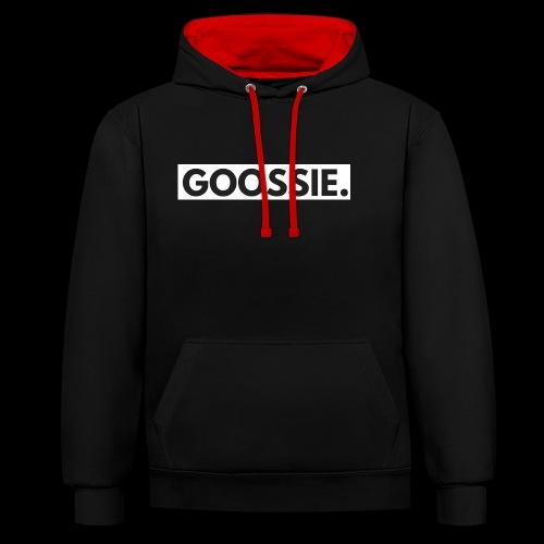 GOOSSIE. - Contrast hoodie