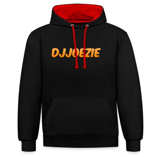 Djjoezie - Contrast hoodie